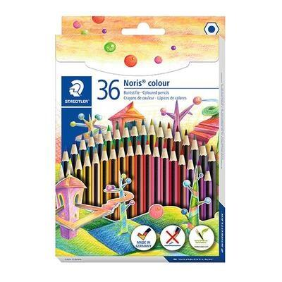 STAEDTLER Noris colour färgpennor, 36 st
