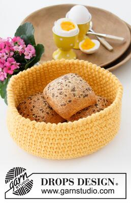 0-1456 Sunny Basket by DROPS Design