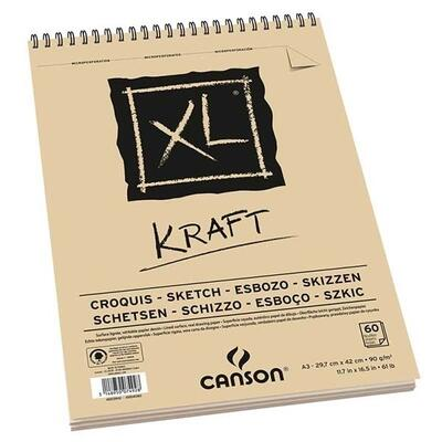 XL Kraft Sketch Paper Block