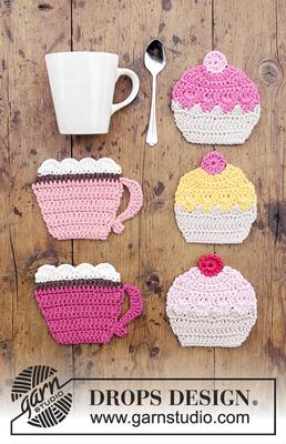 0-1384 Breakfast Cupcakes by DROPS Design