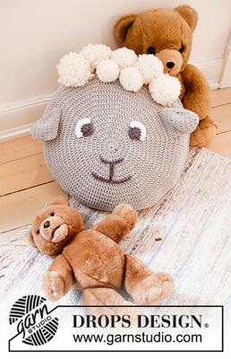 35-2 Dolly the Sheep Pillow by DROPS Design