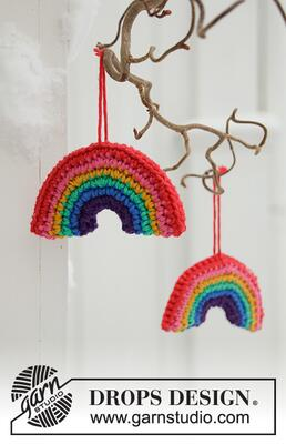 0-1463 Holiday Rainbows by DROPS Design