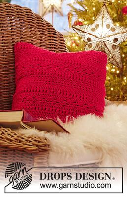 0-1445 Merry Pillow by DROPS Design