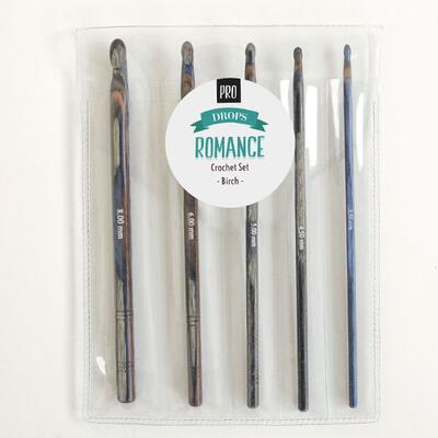 DROPS Pro ROMANCE Virknål Set (3.50-8.00mm)