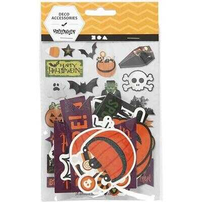 Tags, Halloween, 20-100 mm, 2x24 st.