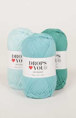 DROPS Loves You 7 Garnpaket - 19 nystan