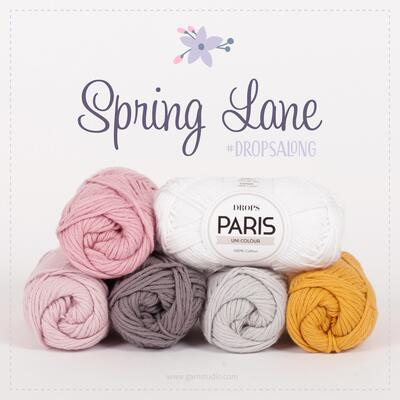 DROPS-Along : Spring Lane PARIS (29 nöster)